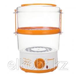 Пароварка SA-7213A 2ч (5,0л) 500Вт бел/оранж