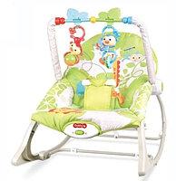 Кресло шезлонг Rocker (вибро,мелодия от игрушки)3 положения