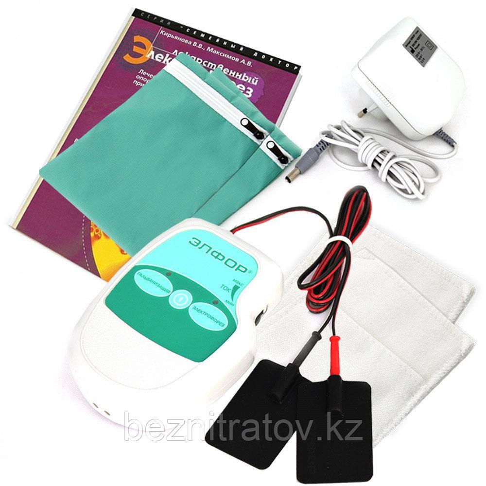 Элфор аппарат для гальванизации и электрофореза (Полная комплектация)