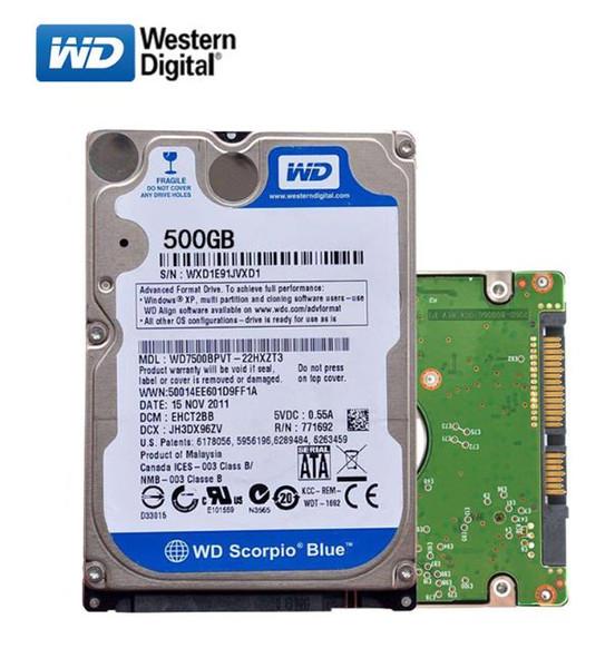 "Жесткий диск для ноутбука 500Gb WD Blue 5400rpm, 2.5"", 6.0 Gb/s, 16M cache"