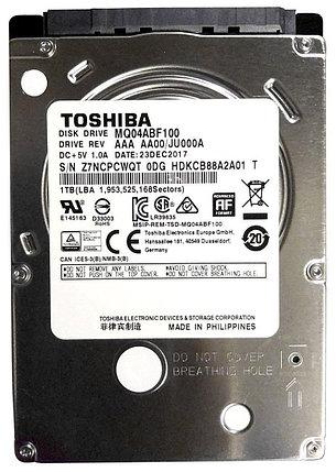 "Жесткий диск для ноутбука 1Tb Toshiba 5400rpm, 2.5"", 8M cache, фото 2"