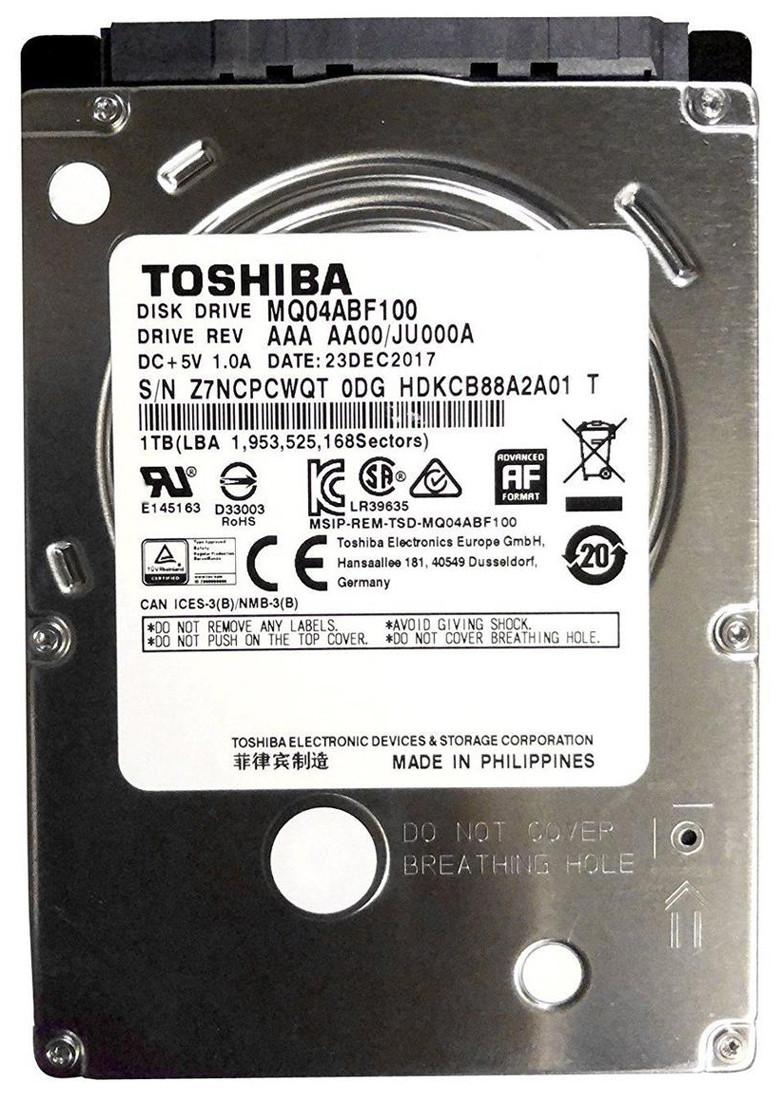 "Жесткий диск для ноутбука 1Tb Toshiba 5400rpm, 2.5"", 8M cache"