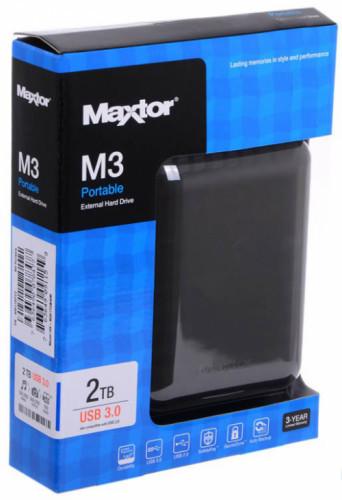 "HDD 2TB Seagate Maxtor, 2.5"" USB 3.0"
