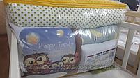 Набор детского постельного белья из 17 предметов(для кроватки-манежа),расцветки уточняем, фото 3