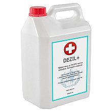 Средство дезинфицирующее Dezil + 5 литров для антисептической обработки рук и поверхностей
