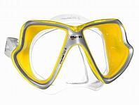 Маска MARES Мод. X-VISION-MID-LIQUIDSKIN CLEAR/YELLOW/YELLOW R 73602
