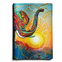 Обложка для паспорта, PAS1 «Sun elephant»