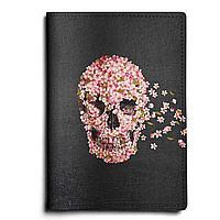 Обложка для паспорта, PAS1 «Skull wind»