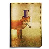 Обложка для паспорта, PAS1 «Smoke fox»