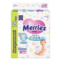 Merries Подгузники Merries 3, M, 76 шт/упак.