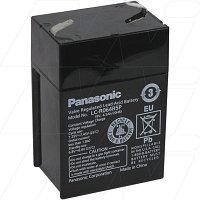 Аккумулятор свинцовый Panasonic LC-R064R2P, 6V 45 Ah для ЮПС (UPS) 1 шт