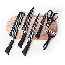 Ножи рифлёные Everich Knifes  ER-0198 (BL)