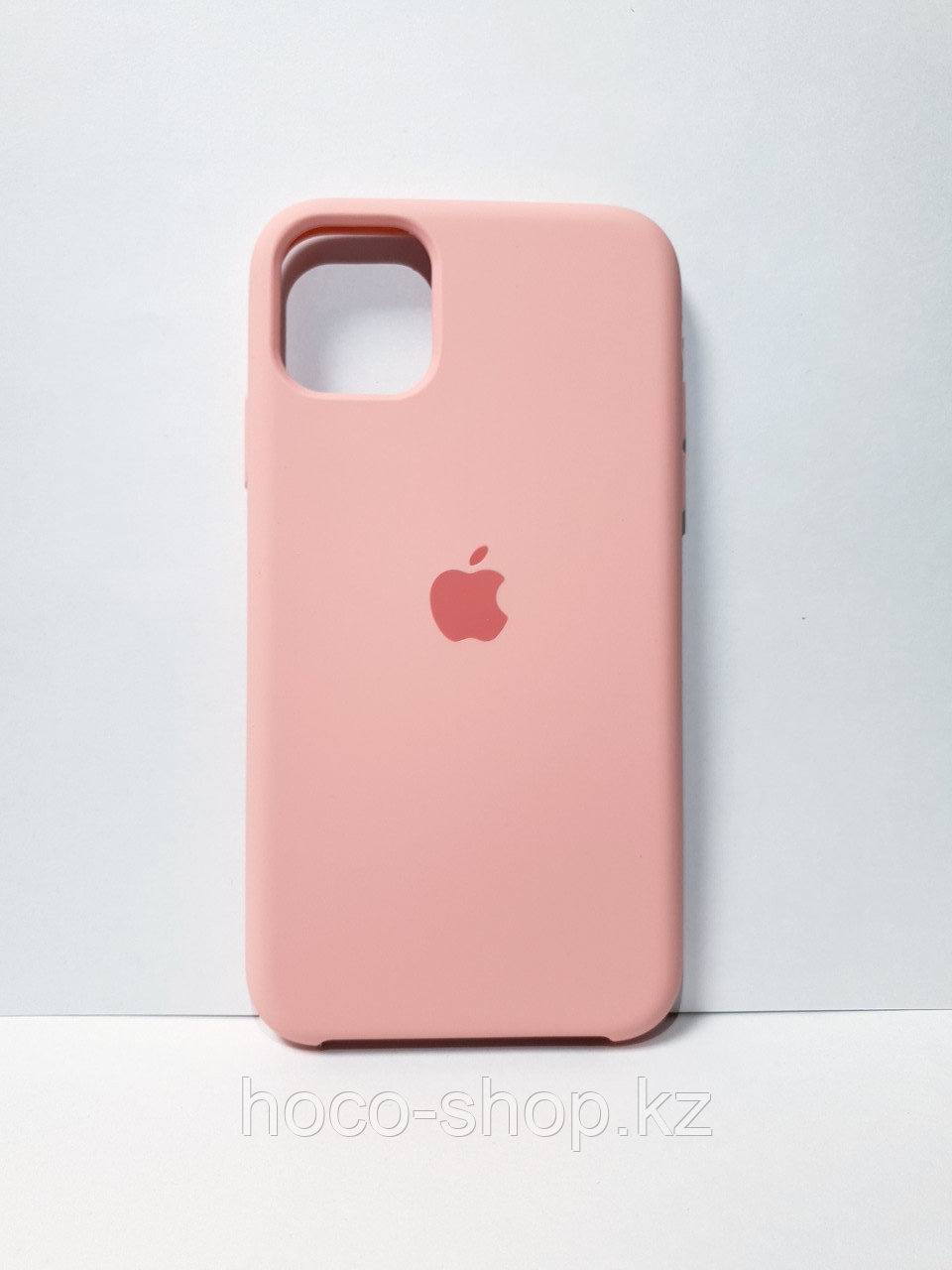Защитный чехол для iPhone 11 Soft Touch силиконовый, розовый