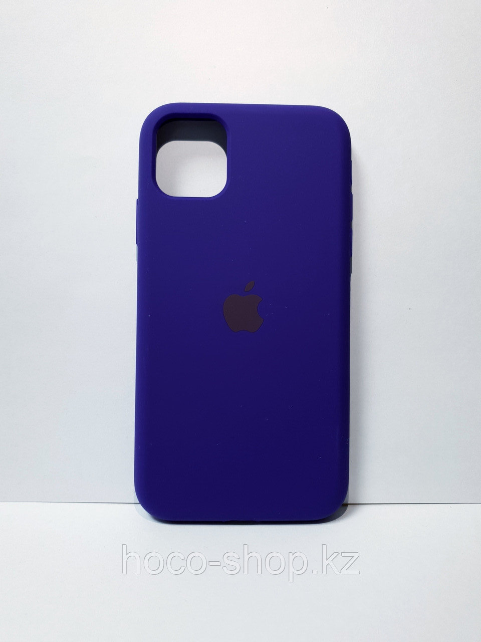 Защитный чехол для iPhone 11 Soft Touch силиконовый, темно-синий