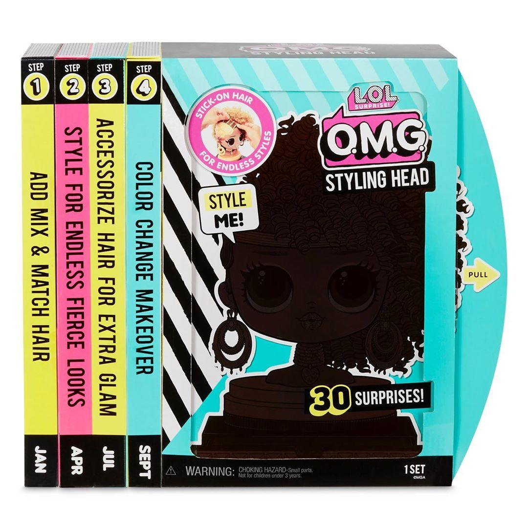 LOL Surprise -  ЛОЛ ОМГ Голова для моделирования причесок LOL OMG Styling Head