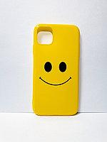 Чехол гелевый смайлик для iPhone 11