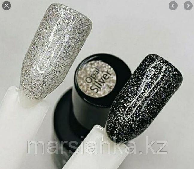 Гель лак Grattol LS Opal Silver, 9ml