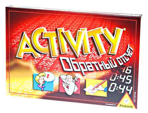 Games Piatnik ACTIVITY обратный отсчет