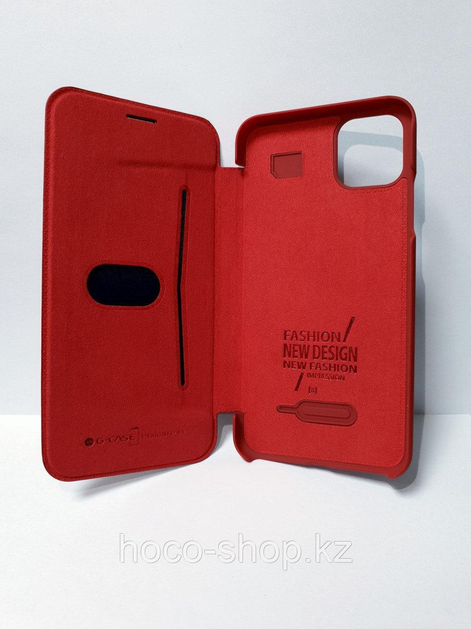 Кожаный чехол-книжка Baseus iPhone 11 - фото 2