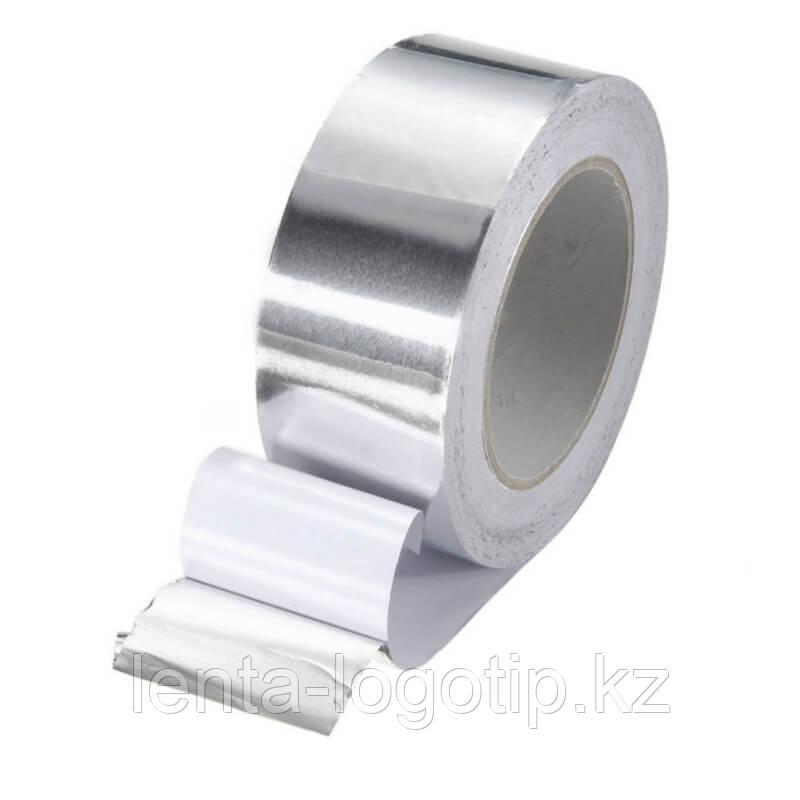 Алюминиевая лента клейкая 50 мм × 25 м