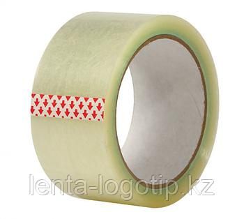 Упаковочная клейкая лента прозрачная 40 мкм × 66 м