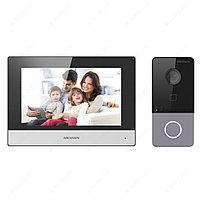 IP комплект домофона Hikvision DS-KIS603-P, фото 1