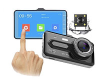 Видеорегистратор с камерой заднего вида Dash cam  T686 TP, фото 1