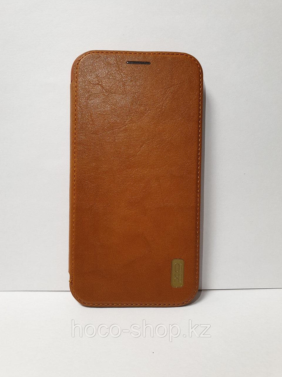 """Кожаный чехол-книжка """"XO"""" iPhone 11"""