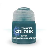 Layer: Sons of Horus Green (Слой: Сыновья Хоруса Зелёного). 12 мл.
