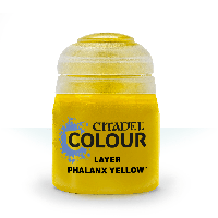 Layer: Phalanx Yellow (Слой: Фаланкс жёлтый). 12 мл.