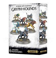 Stormcast Eternals: Gryph Hounds (Бурерождённые Вечные: Грифы-гончие)