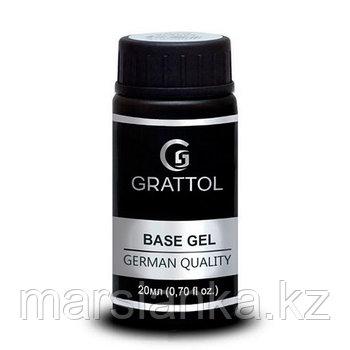 Rubber base gel (каучуковая база) GRATTOL, 20мл