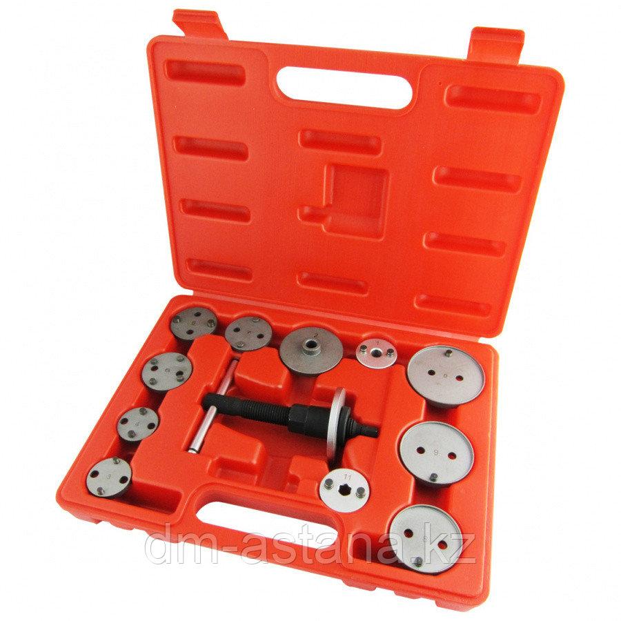 МАСТАК Приспособление для утапливания поршня тормозного цилиндра, кейс, 13 предметов МАСТАК 102-00011C
