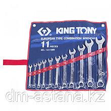 KING TONY Набор комбинированных ключей, 8-24 мм, 11 предметов KING TONY 1211MR