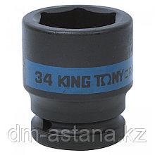 "KING TONY Головка торцевая ударная шестигранная 3/4"", 34 мм KING TONY 653534M"