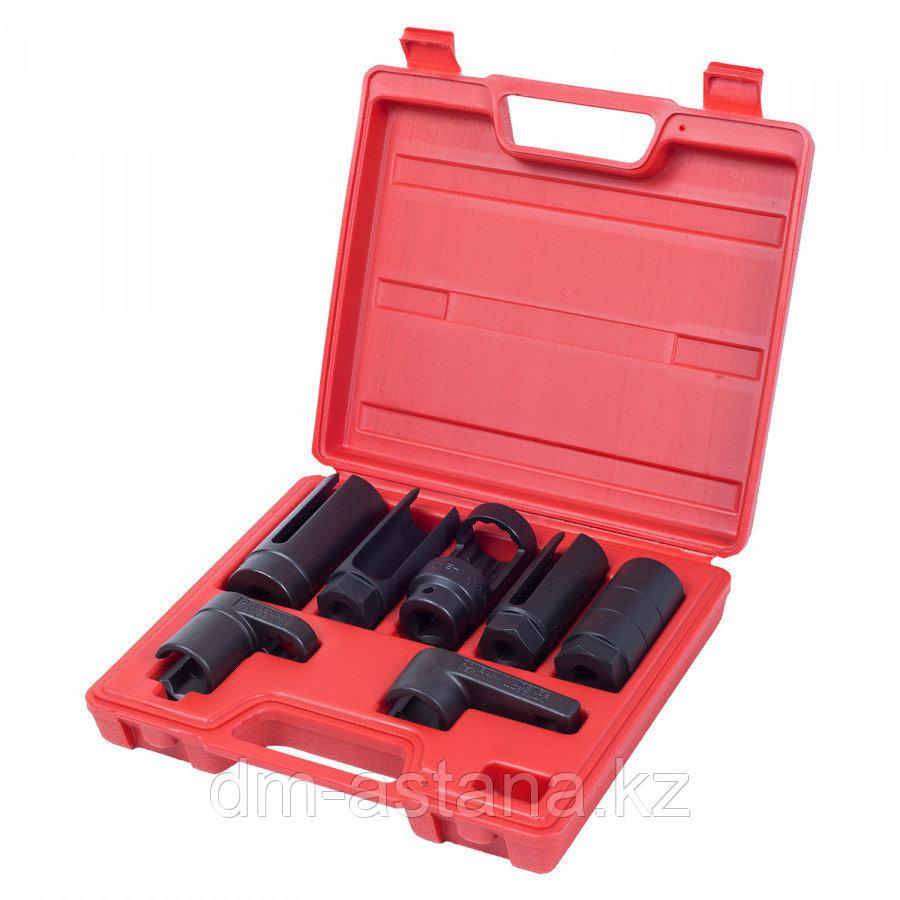 МАСТАК Набор головок для кислородных датчиков, кейс, 7 предметов МАСТАК 103-61007C