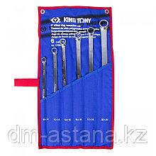 KING TONY Набор накидных ключей, 10-24 мм, 6 предметов KING TONY 1F06MRN