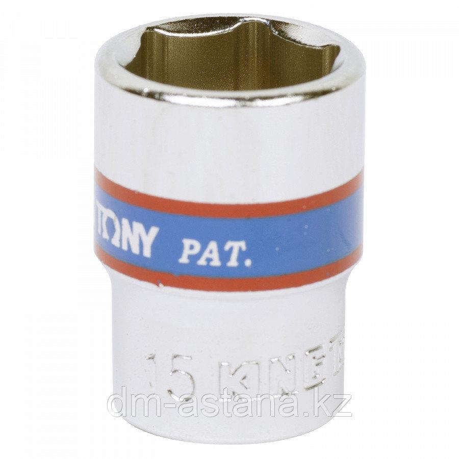 """Насадка (бита) торцевая 1/4"""", TORX T10, L = 37 мм KING TONY 203310"""