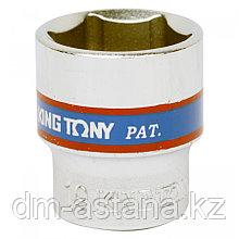"""Насадка (бита) торцевая 1/4"""", HEX, 6 мм, L = 37 мм KING TONY 203506"""