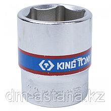 """Насадка (бита) торцевая 1/4"""", HEX, 8 мм, L = 37 мм KING TONY 203508"""