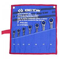 Набор инструментов для тележки, 13 ложементов, 286 предметов KING TONY 934-010MRVD