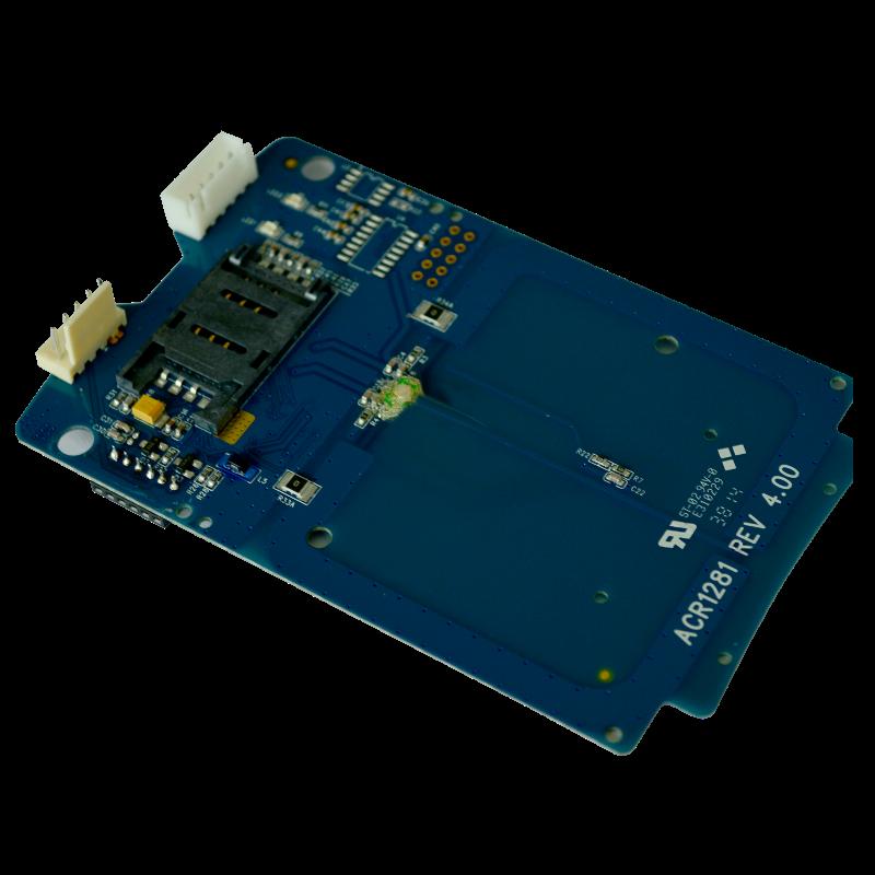 Считыватель бесконтактных карт ACM1281U-C7 с интерфейсом USB и SAM-слотом