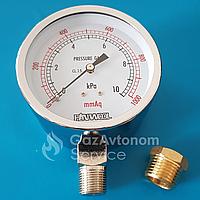 Манометр для измерения низких давлений газов