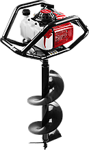 Мотобур (бензобур) со шнеком, d=60-300 мм, 71 см3, 2 оператора, ЗУБР