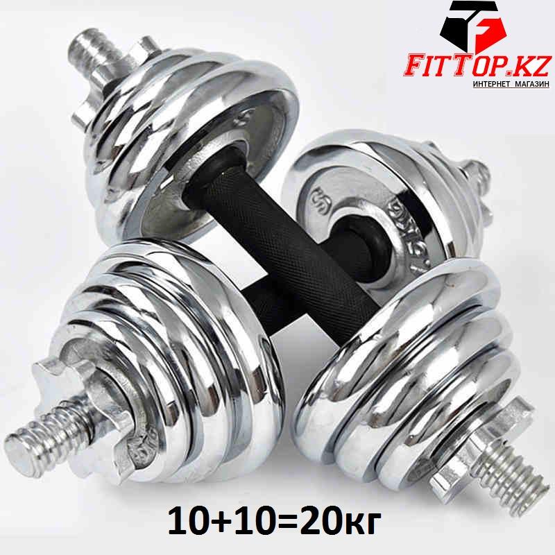 Набор гантелей разборных York Fitness 20 кг.