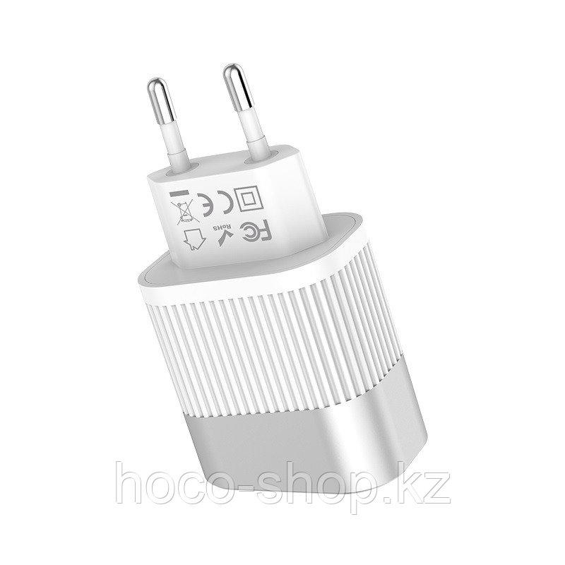 C40A Адаптер Speedmaster dual port charger white