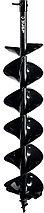 Шнек для мотобуров, мерзлый грунт, d=150 мм, двухзаходный, ЗУБР