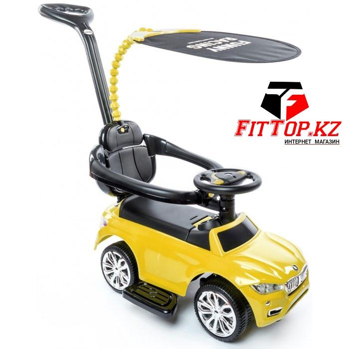"""Машина-каталка Happy Baby """"JEEPSY"""" (yellow), от 1-3лет, макс.вес 30 кг"""