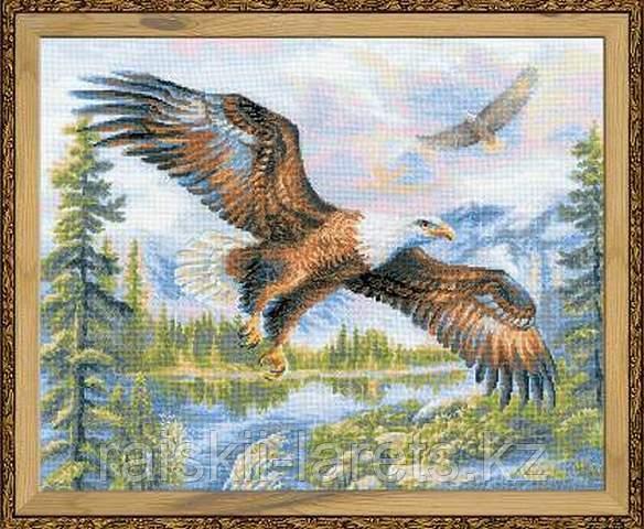 """Набор для вышивки крестом """"Риолис"""" 1471 """"Свободный полет"""""""