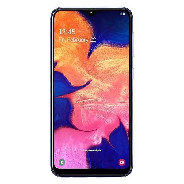 Смартфон Samsung Galaxy A10 Blue (SM-A105FZBGSKZ)